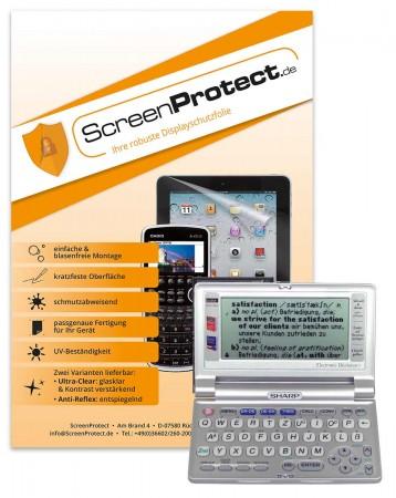 ScreenProtect Displayschutzfolie AntiReflex für Sharp PW-E Serie