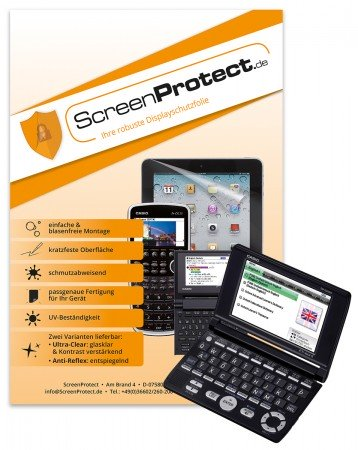 ScreenProtect Displayschutzfolie UltraClear für Casio EW-G6600C