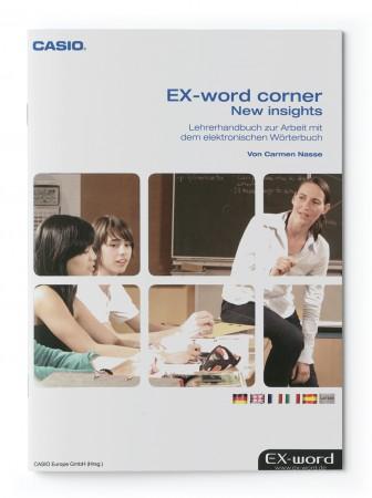 Lehrerhandbuch zur Arbeit mit dem elektronischen Wörtebuch - Ex-word corner - New insights